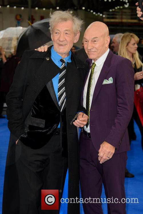 Sir Ian Mckellen and Sir Patrick Stewart 2