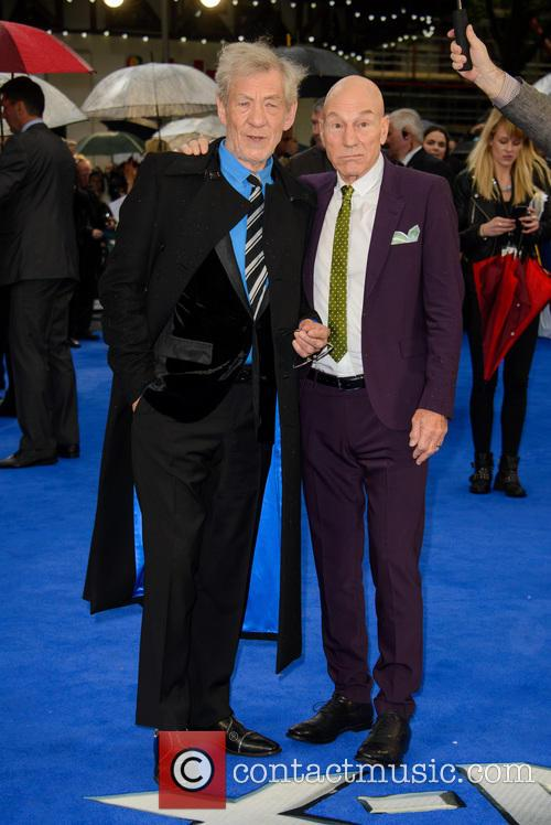 Sir Ian Mckellen and Sir Patrick Stewart 6