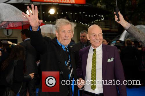 Sir Ian Mckellen and Sir Patrick Stewart 1