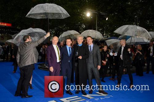 Sir Patrick Stewart, James Mcavoy, Sir Ian Mckellen and Michael Fassbender 2