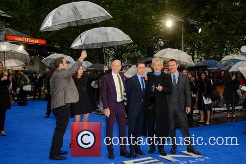 Sir Patrick Stewart, James Mcavoy, Sir Ian Mckellen and Michael Fassbender 8