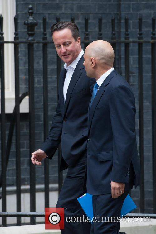 David Cameron and Sajid Javid 3