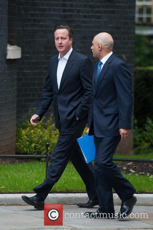 David Cameron and Sajid Javid 4