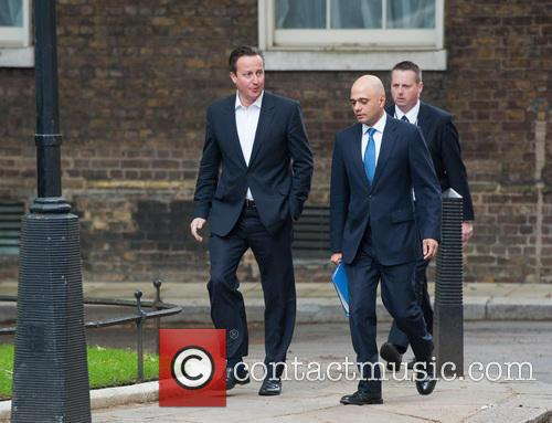 David Cameron and Sajid Javid 5