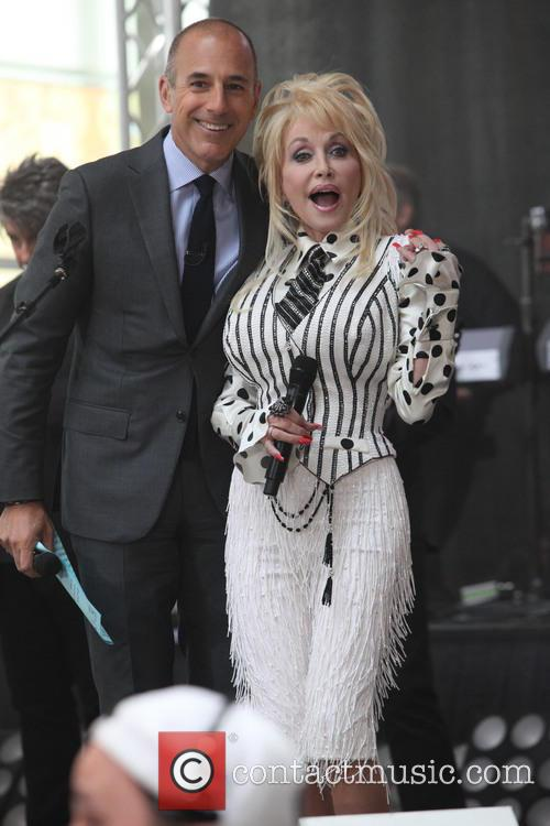 Matt Lauer and Dolly Parton 1
