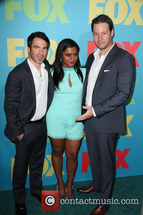 Chris Messina, Mindy Kaling and Ike Barinholtz