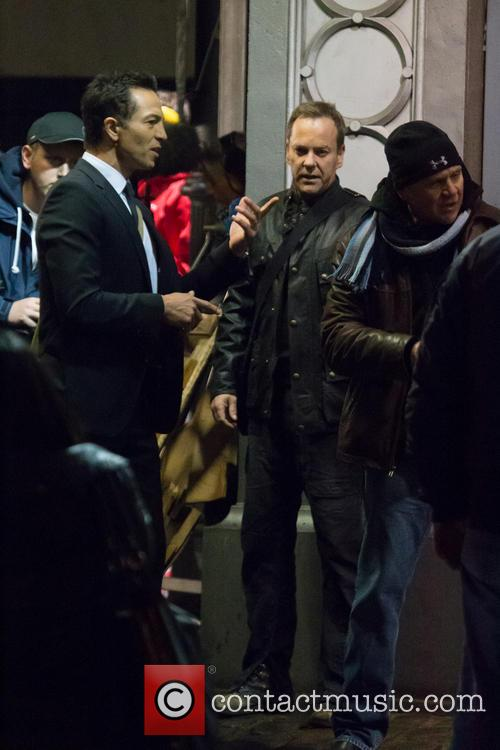 Benjamin Bratt and Kiefer Sutherland 11