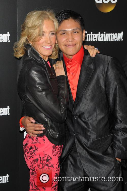 Felicity Huffman and Johny Ortiz 3