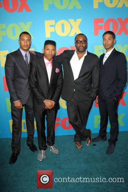 Trai Byers, Bryshere Gray, Lee Daniels and Jussie Smollet 3