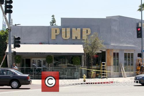 Lisa Vanderpump's new restaurant PUMP has its sign...