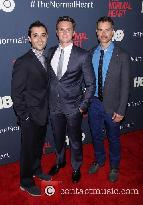 Frankie J. Alvarez, Jonathan Groff and Murray Bartlett 1