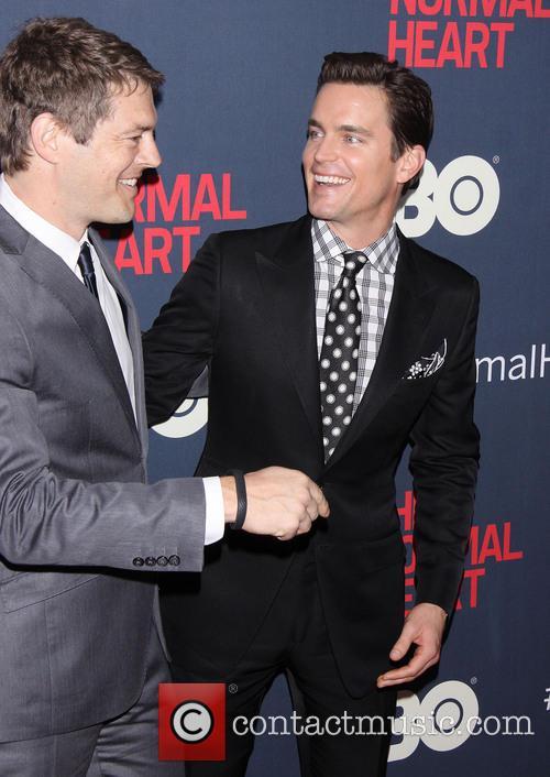 Jason Blum and Matt Bomer 2