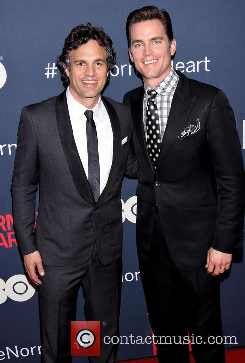 Mark Ruffalo and matt Bomber