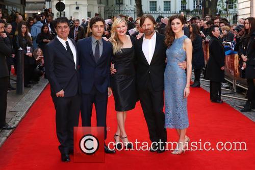 Hossein Amini, Oscar Issac, Kirsten Dunst, Viggo Mortensen and Daisy Bevan 5