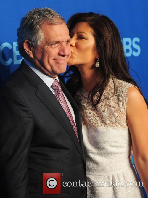 Les Moonves and Julie Chen 1