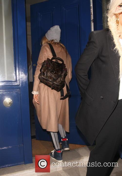 Rita Ora And Cara Delevigne At Chiltern Firehouse