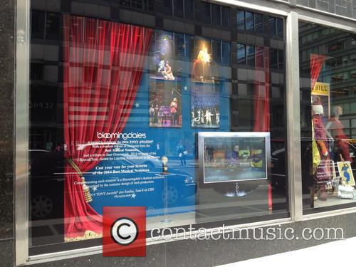 Bloomingdale's 2014 Tony Award Tribute Windows
