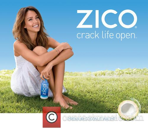 Jessica Alba is the New Face of ZICO...