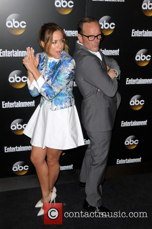 Chloe Bennet and Clark Gregg 4