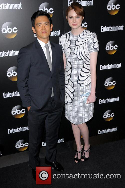 John Cho and Karen Gillan