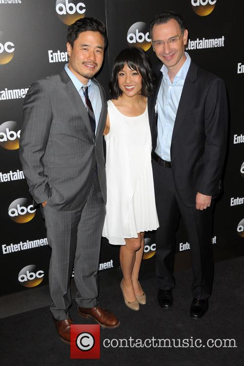 Randall Park, Constance Wu and Paul Lee 2