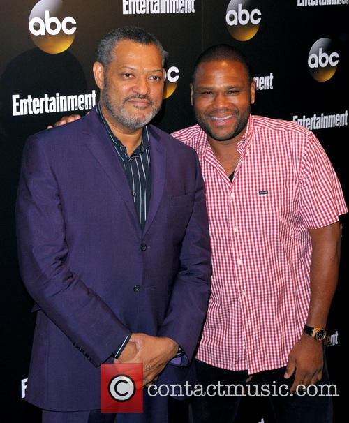 Lawrence Fishburne and Anthony Anderson 3