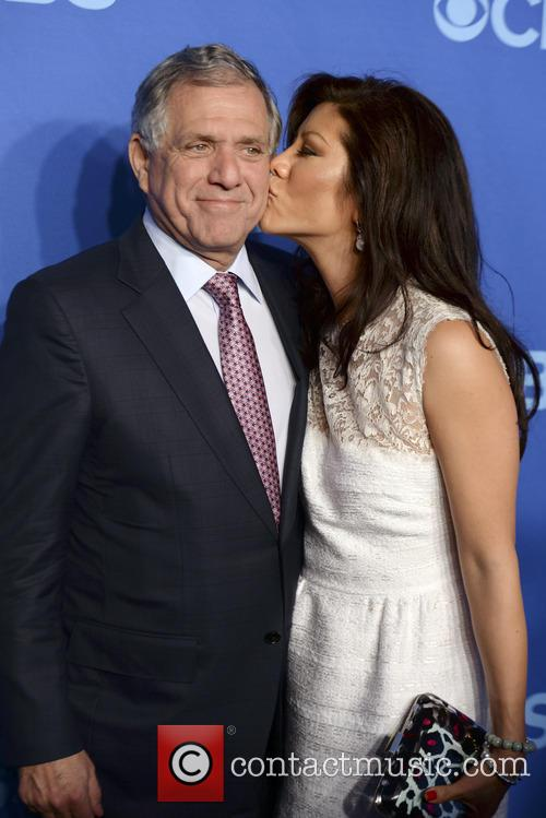 Les Moonves and Julie Chen 4