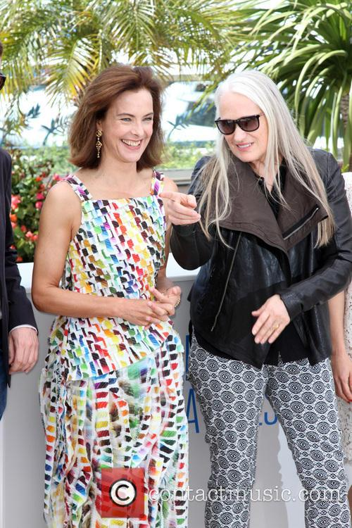 Carole Bouquet and Jane Campion