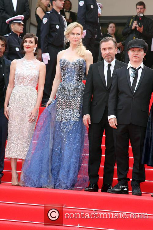 Paz Vega, Nicole KIDMANN, Tim ROTH, Olivier DAHAN, Olympia Hall, Cannes Film Festival