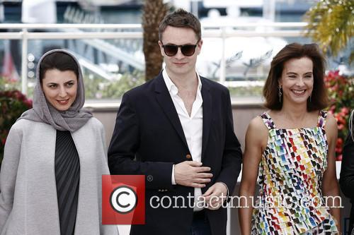 Leila Hatami, Nicolas Winding Refn and Carole Bouquet 3