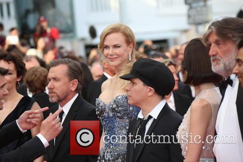 Nicole Kidman (l-r), Tim Roth and Director Olivier Dahan 2