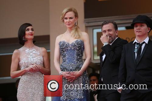 Paz Vega (l-r), Nicole Kidman and Tim Roth Director Olivier Dahan 2