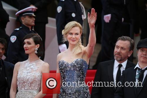 Paz Vega (l-r), Nicole Kidman and Tim Roth Director Olivier Dahan 4
