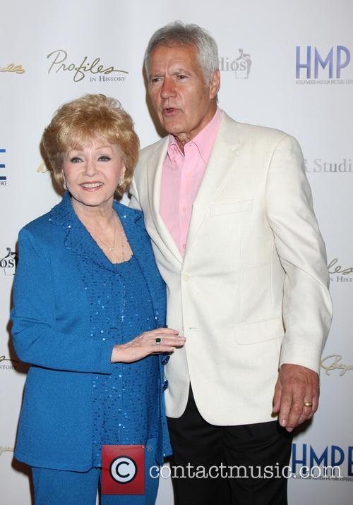 Debbie Reynolds and Alex Trebek 9