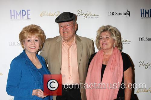 Debbie Reynolds, Dick Van Patten and Pat Van Patten 2