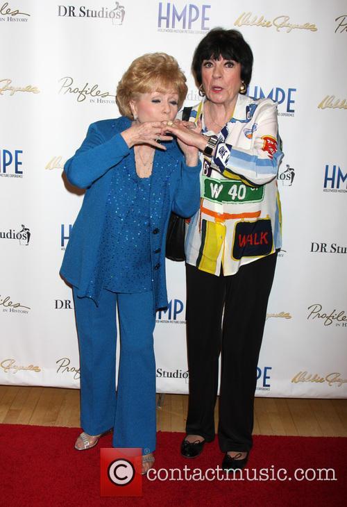 Debbie Reynolds and Jo Anne Worley 5