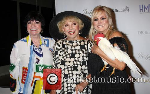 Jo Anne Worley, Ruta Lee and Catherine Hickland