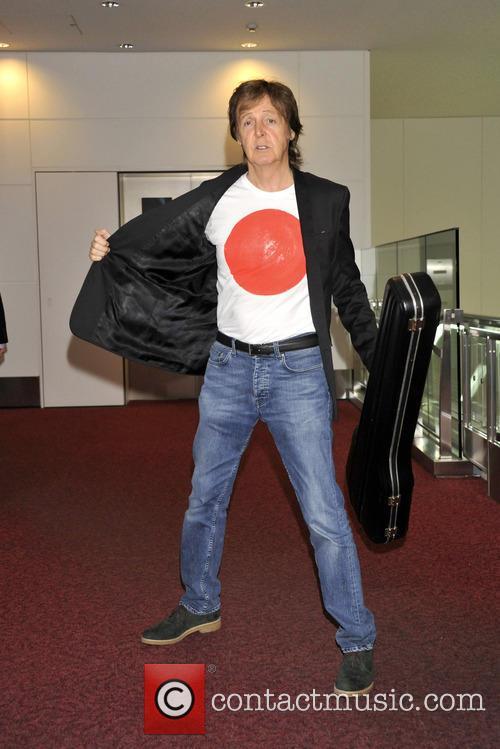 Paul McCartney at a recent press event