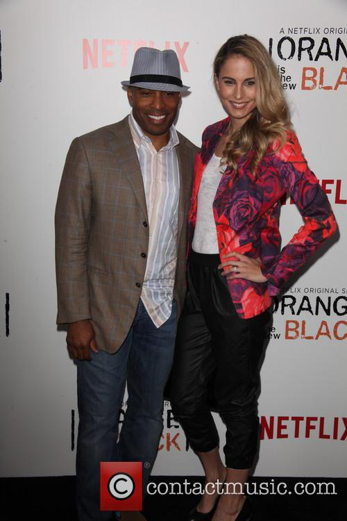 Tiki Barber and Traci Lynn Johnson 4