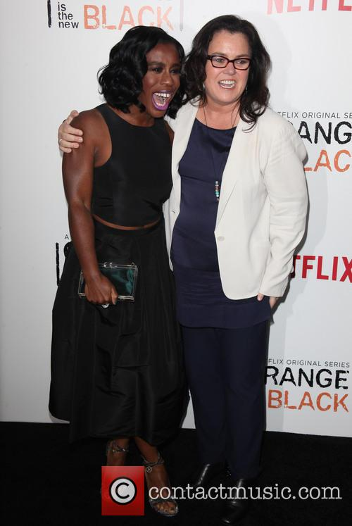Uzo Aduba and Rosie O' Donnell 3