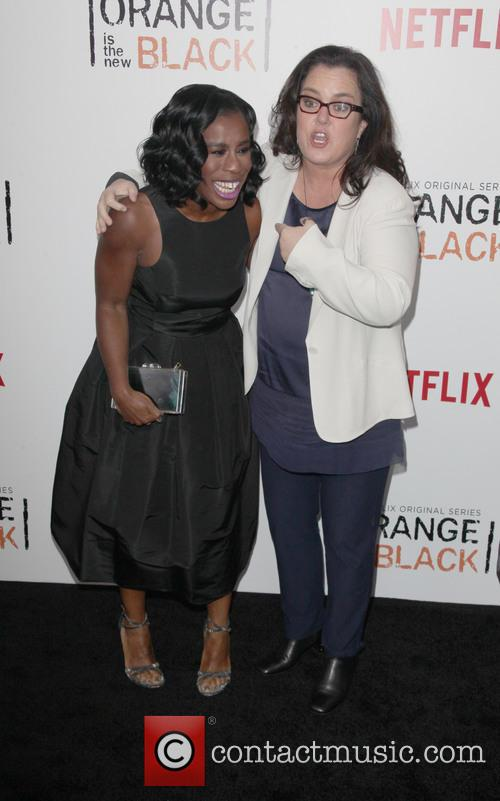 Uzo Aduba and Rosie O' Donnell 4