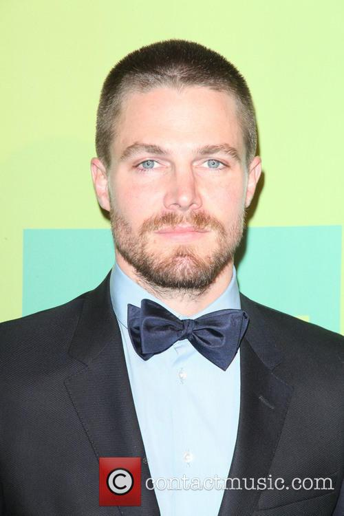 stephen amell cw upfronts arrivals 4196715