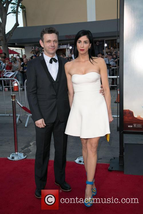 Michael Sheen and Sarah Silverman 4