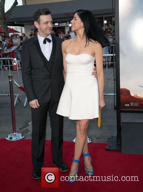 Michael Sheen and Sarah Silverman 5