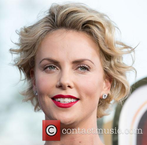 Charlize Theron, Regency Village Theater in Westwood