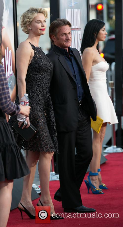 Charlize Theron, Sean Penn, Sarah Silverman, Regency Village Theater in Westwood
