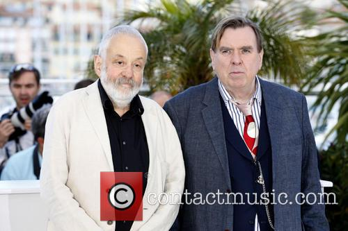 Mike Leigh and Timothy Spall 10