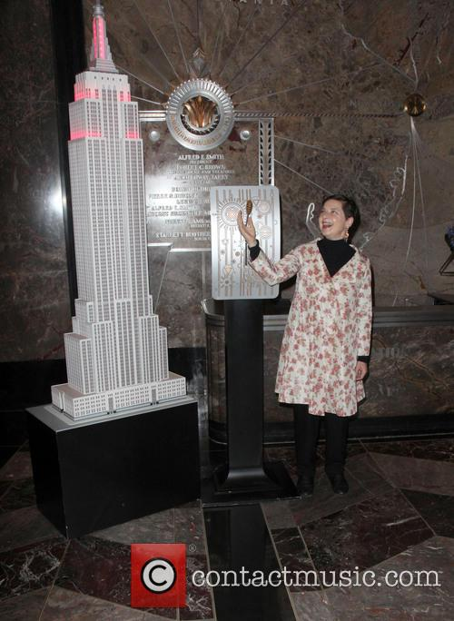 Isabella Rossellini Lights the Empire State Building
