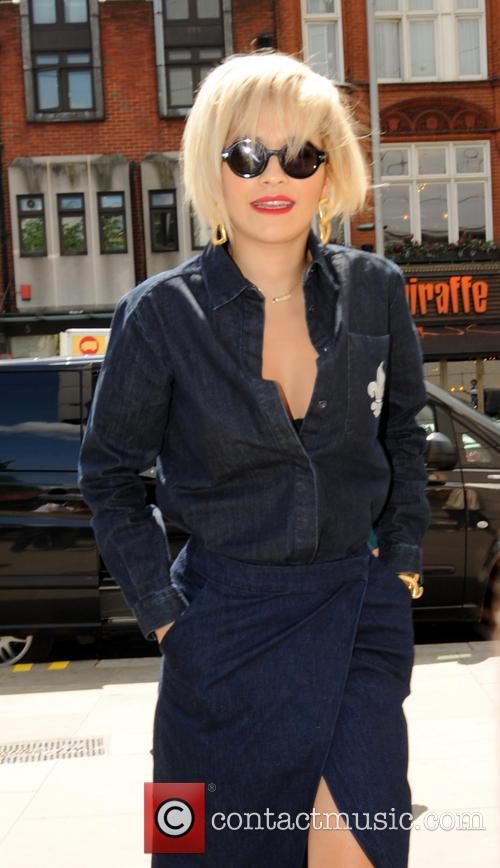 Rita Ora pictured in London