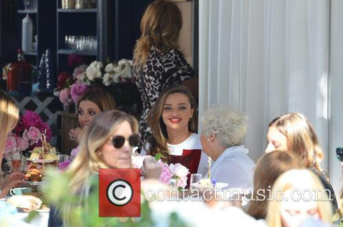 Miranda Kerr Public At Royal Albert Pop-Up Store...